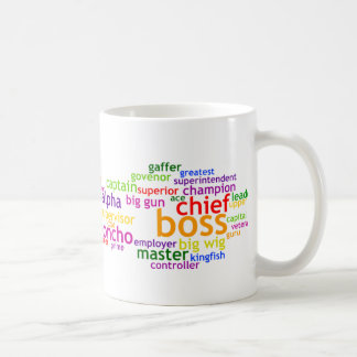 Boss Wordle Coffee Mug