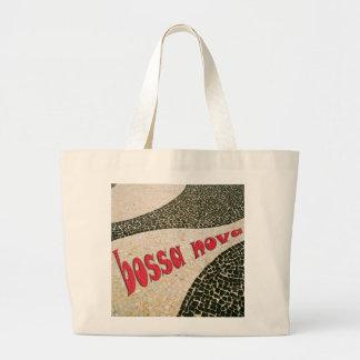 bossa nova large tote bag