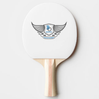 Bossedout Original Ping Pong Paddle red rubber bk