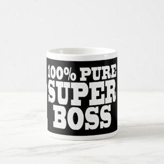 Bosses Birthday Parties : 100% Pure Super Boss Coffee Mug