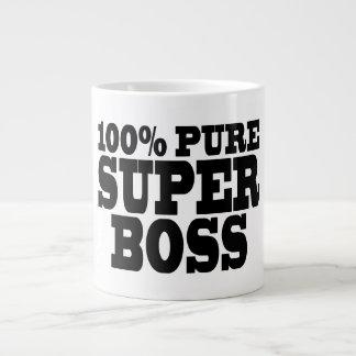 Bosses Birthday Parties : 100% Pure Super Boss 20 Oz Large Ceramic Coffee Mug