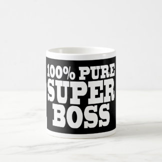Bosses Birthday Parties : 100% Pure Super Boss Classic White Coffee Mug