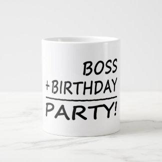 Bosses Birthdays : Boss + Birthday = Party Jumbo Mug