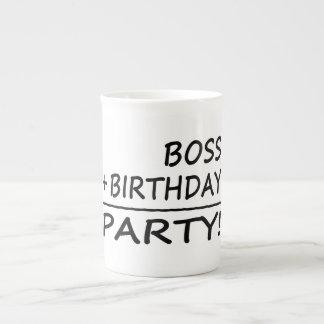 Bosses Birthdays : Boss + Birthday = Party Tea Cup