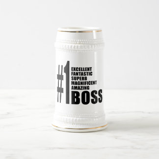 Bosses Birthdays Gifts Number One Boss Coffee Mugs