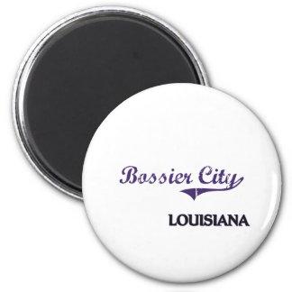 Bossier City Louisiana City Classic Magnet