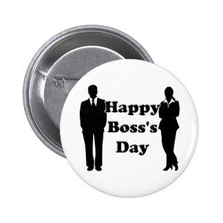 Boss's Day 6 Cm Round Badge