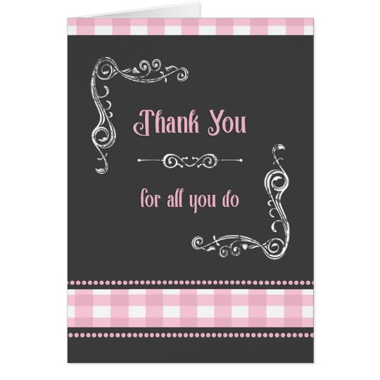 Boss's Day Card / Thank You