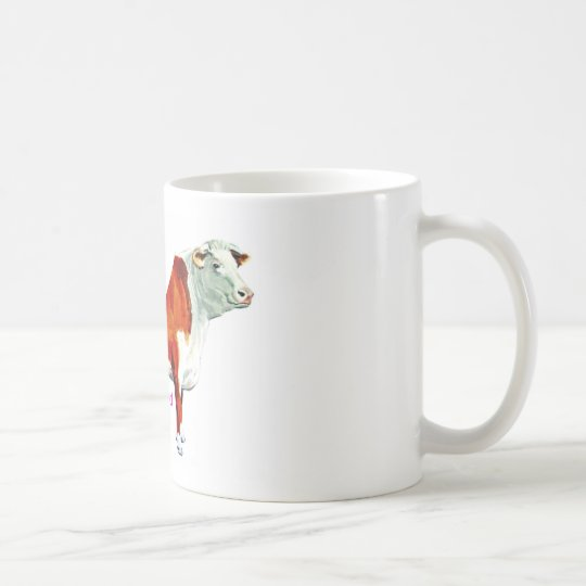 Bossy Proud Of It Cow Coffee Mug