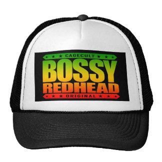 BOSSY REDHEAD - I'm Dominant Fiery Phoenix Rising Cap