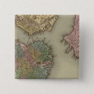 Boston 15 Cm Square Badge