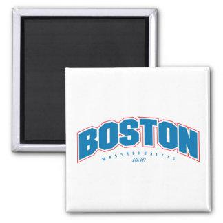 Boston 1630 square magnet