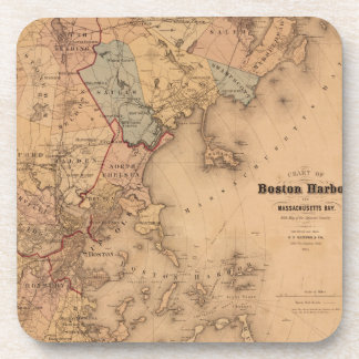 Boston 1861 coasters