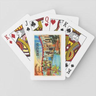 Boston #2 Massachusetts MA Vintage Travel Souvenir Playing Cards