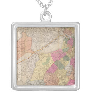 Boston 2 silver plated necklace