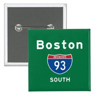 Boston 93 15 cm square badge
