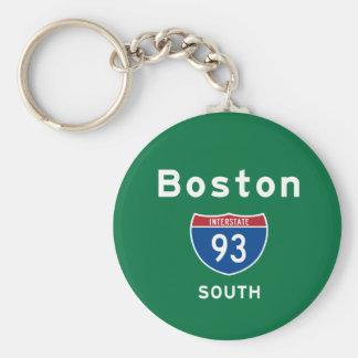 Boston 93 key ring