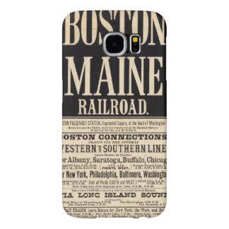 Boston and Maine Railroad Samsung Galaxy S6 Cases