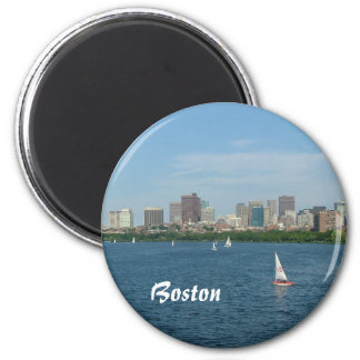 Boston and the Charles River Magnet