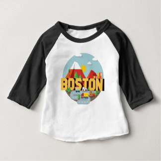 Boston As A Destination Baby T-Shirt