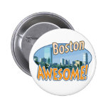 Boston Awesome Gear by Mudge Studios Pins