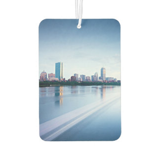Boston Back bay across Charles River Car Air Freshener