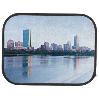 Boston Back bay across Charles River Car Mat