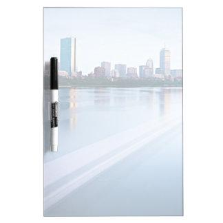 Boston Back bay across Charles River Dry Erase Board