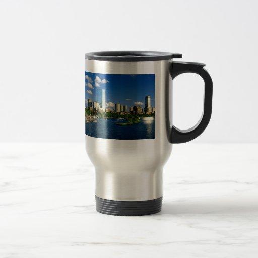 Boston Back Bay Area Mugs