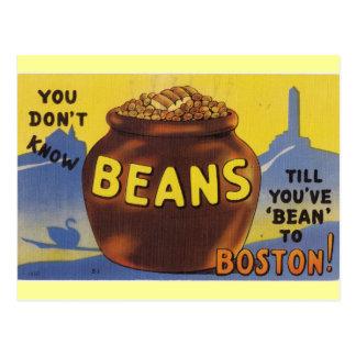 Boston Baked Beans Postcard