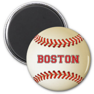 BOSTON BASEBALL MAGNET