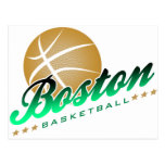 Boston Basketball Postcards
