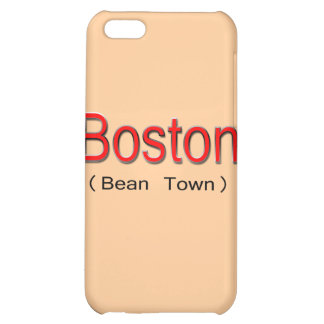 Boston (Bean Town) red Cover For iPhone 5C