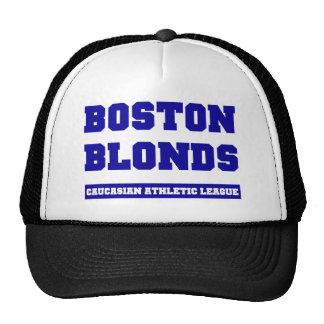 Boston Blonds Cap