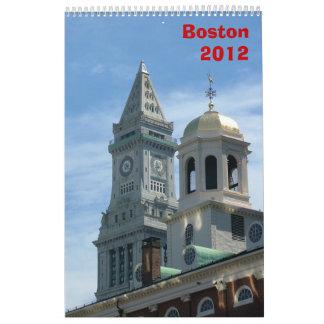 Boston Calendar - 2012