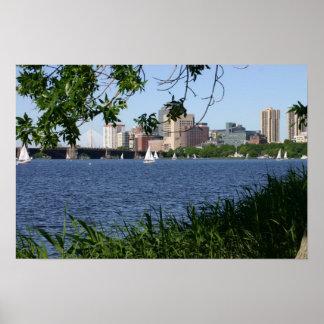 Boston Charles River Poster