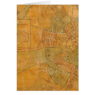 Boston, Charlestown, Cambridge, Massachusetts Card