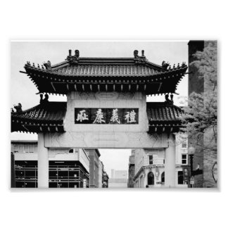 Boston Chinatown Photo Print