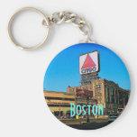 Boston Citgo Keychain