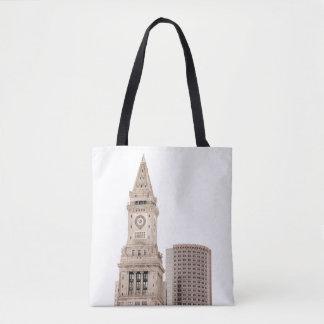 Boston City Architecture   Tote Bag
