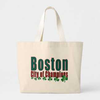 Boston City of Champions Canvas Bags