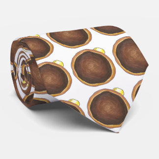 Boston Cream Creme Donut Doughnut Foodie Tie