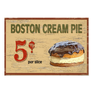Boston Cream Pie Photo