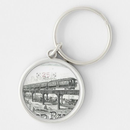 Boston Elevated Railway Company Keychain