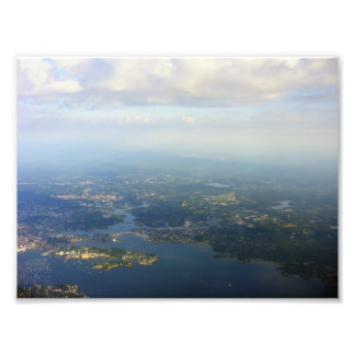 Boston from the Sky Photograph