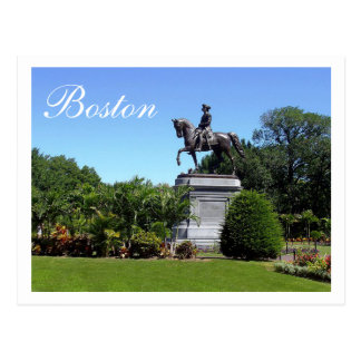 Boston Gardens, Boston Massachusetts Post Card