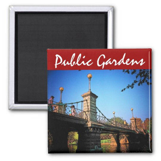 Boston Gardens Magnet
