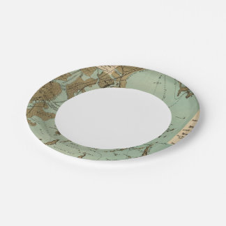 Boston Harbor 7 Inch Paper Plate