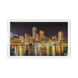 Boston Harbor Acrylic Tray