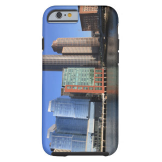 Boston Harbor and skyline.  Boston is one of the 4 Tough iPhone 6 Case